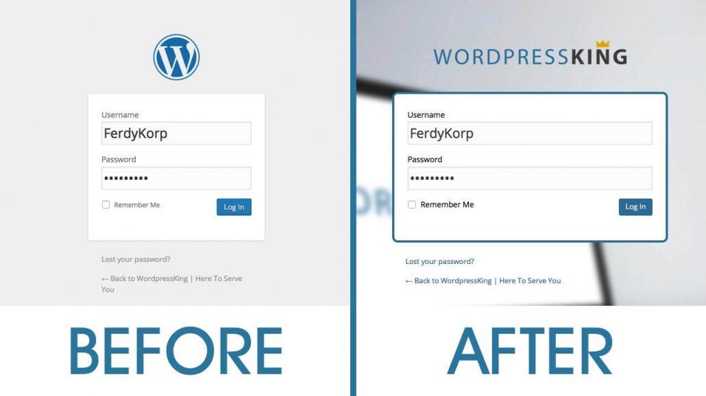 Create a Custom Login Page for Wordpress