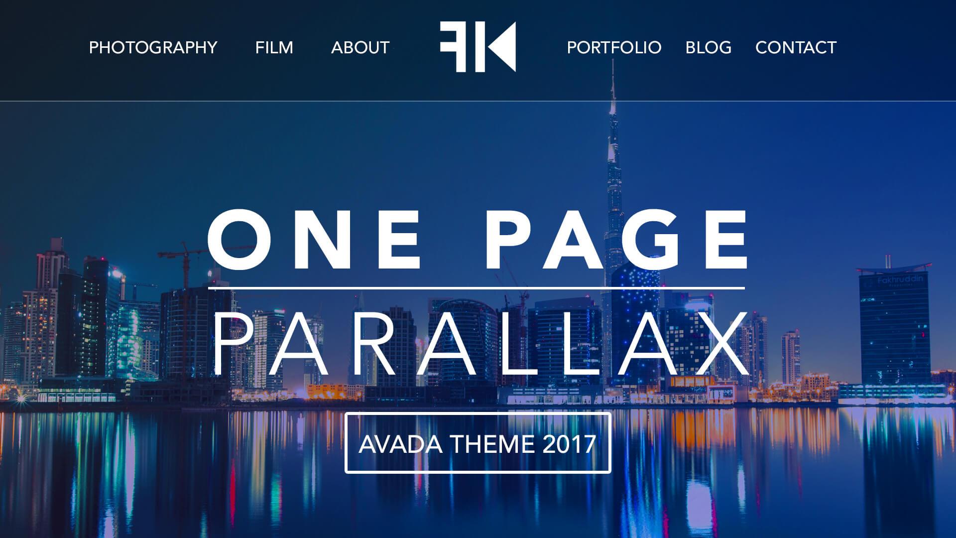 parallax tutorial 2017 learn how to create a website ferdy