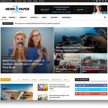 Wordpress Newspaper Theme