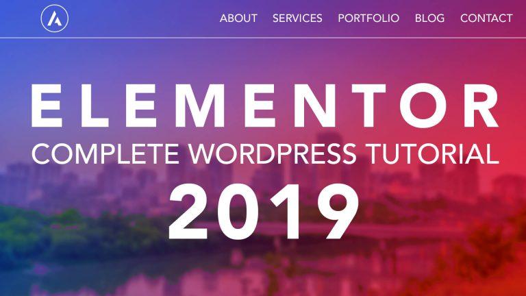 How To Make A Website 2019