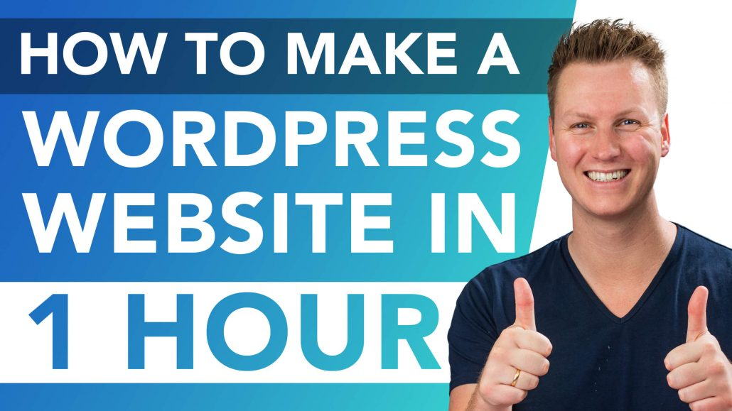 How To Make A Website In One Hour
