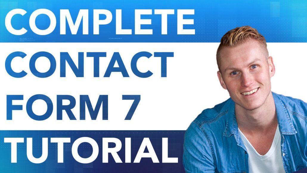 Contact Form 7 Tutorial