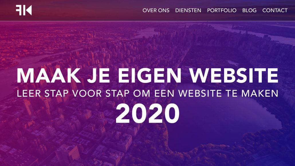 Hoe Maak Je Een Wordpress Website 2020