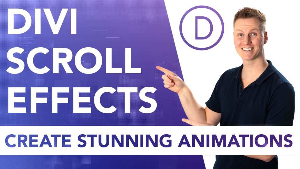 Divi Scroll Effects