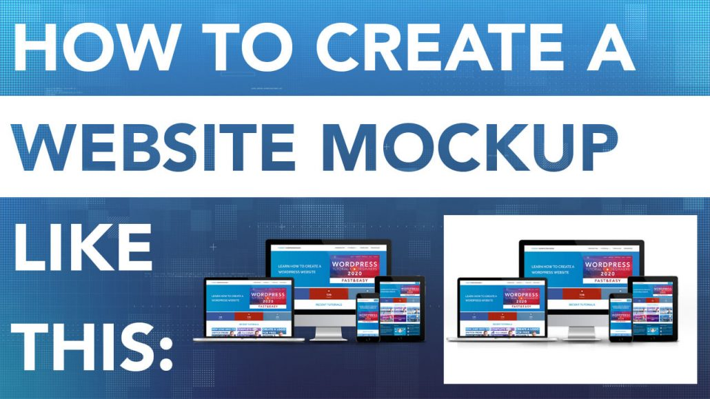 How To Create A Website Mockup