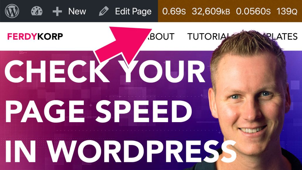 Check Your Website Speed Within Wordpress