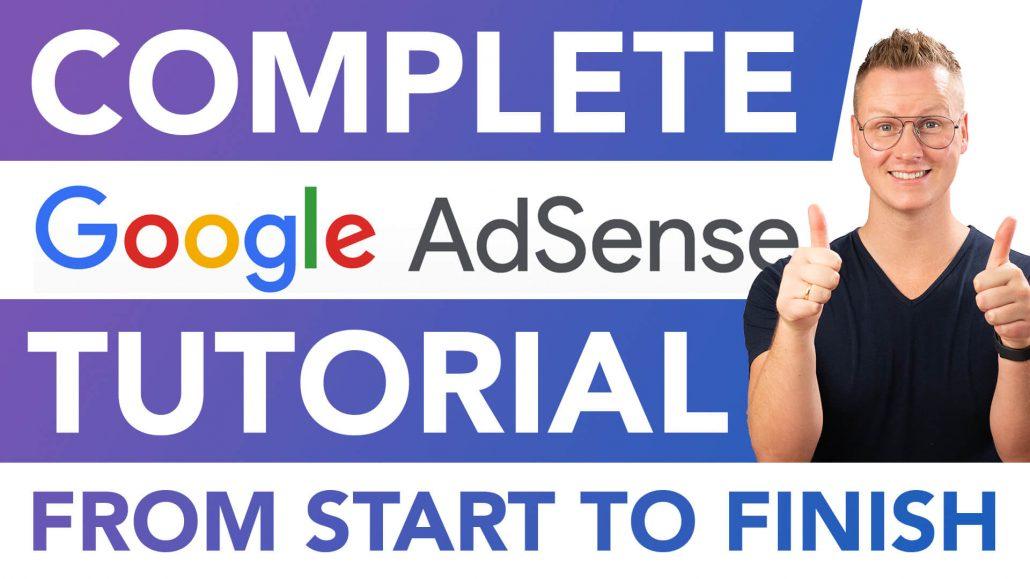 Google Adsense Tutorial 2021 2022 Beginners Website Approve